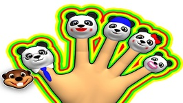 Finger Family Pandas Reggae - Preschool Song for Kids - Kindergarten Nursery Rhyme