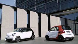 The new smart fortwo and smart forfour - Driving Video and Exterior Design