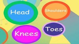 Head, Shoulders, Knees and Toes - Children's Song - Nursery Rhyme for Kids