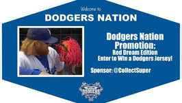 Dodgers Nation Promotion: Red Dream Edition