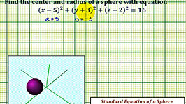 Ex 2: Find Standard Equation of a Circle Given the Endpoints of a ...
