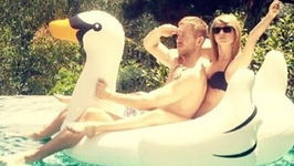 Taylor Swift Shares First Photo with Calvin Harris