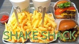Shake Shack in Seoul, Korea - Eating burgers, cheesy fries and milkshakes