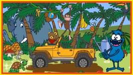 Clown Choocha Funnyboy - Jungle Story - Interactive Cartoon Games