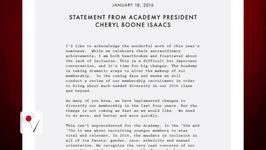 Academy Awards President Releases Statement As Stars Boycott Show