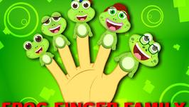 Frog Finger Family Nursery Rhyme