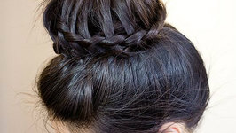 How-to: 3 Min Lace Braided Donut Bun