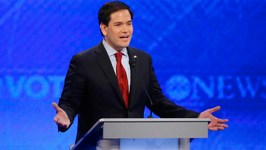 Marco Rubios Robot Debate Gets Trolled By Chris Christie