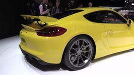 Porsche Cayman Gt4 World Premiere At 2015 Geneva Motor Show