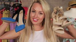 Jorgie Porter's Shoe Haul