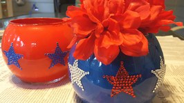 Dollar Tree 4th of July Centerpiece