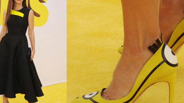 Sandra Bullock Rocks Minion-Inspired Heels At Minions Premiere