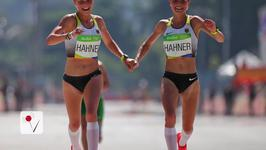 German Twins Criticized for Holding Hands Across Olympic Finish Line