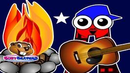 Campfire ABCs Song - Teach Babies, Toddlers, Kids, Preschoolers and Kindergarten