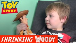 Toy Story 4 - Incredible Shrinking Woody - Buzz Lightyear - Doc Brown - Disney Pixar