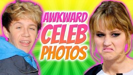 Awkward Celebrity Photos - Stars Making Funny Faces