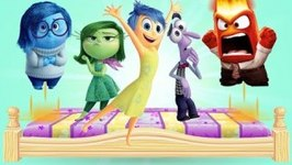 Inside Out Jumping On The Bed - Lyrics and Karaoke - Nursery Rhymes for Children