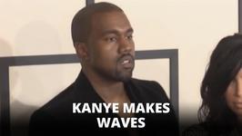 Kanye West causes tidal waves