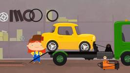 Car Doctor  Kid's Car Cartoons - Car And Tow Truck - Doc McWheelie's Garage
