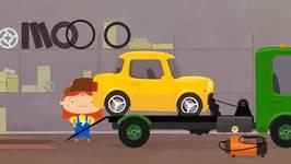 Car Doctor  Kid's Car Cartoons - Car And Tow Truck - Doc McWheelie's Garage