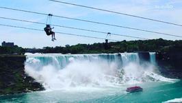 Terrifying New Zipline has the Best Vantage Point of Niagara Falls