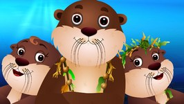 Sea Otter Song  ChuChuTV Sea World  Animal Songs For Children