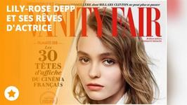Lily-Rose Depp : 'J'aime jouer, a me libre !'