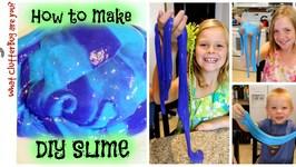 Make DIY Slime - Make it Monday