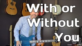 With Or Without You by U2 - Looper Pedal