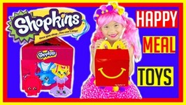 Shopkins McDonalds Happy Meal Toys! Ultra Rare Find