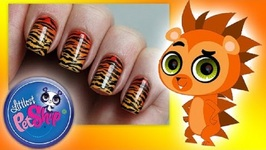 Littlest Pet Shop Nail Art Lookbook - DIY Nail Designs - Minka Mark, Pepper Clark, and More