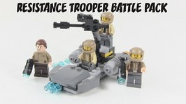 LEGO Star Wars The Force Awakens Resistance Trooper Battle Pack Review - LEGO 75131