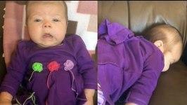 Baby's First Big Sneeze