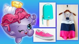 Shopkins Spring Break Fashion Lookbook - Ice Cream Queen, Jingle Purse, and More