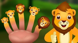 Lion Finger Family  ChuChu TV Animal Finger Family Songs & Nursery Rhymes For Children
