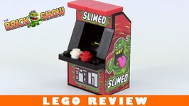 Custom LEGO Slimed Arcade Machine Review, Ghostbusters Inspired