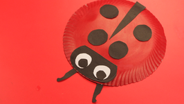 Paper Plate Lady Bug & Paper Plate Snake Video by Happy Crafts | fawesome.tv