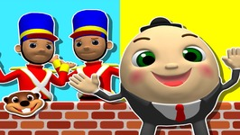 Humpty Dumpty - Learn Kindergarten Nursery Rhymes - Teach Babies and Toddlers