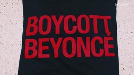 Boycott Beyonce' T-Shirts on Sale at Beyonce Concert