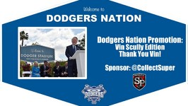 Dodgers Nation Promotion: Vin Scully Edition