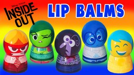 Inside Out Lip Balm Lip Gloss Videos For Children