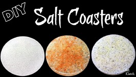 Salt Coasters DIY - Another Coaster Friday - Resin Crafts