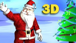 Santa claus is coming to town - 3d Christmas Songs for Children - Santa Claus