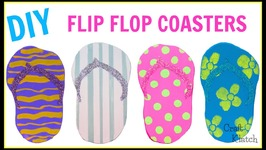 DIY Flip Flop Coasters  Another Coaster Friday