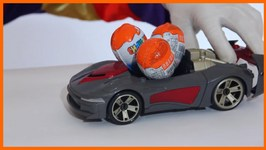 Children's Videos  Car Clown  Surprise Egg Sports Car Unboxing