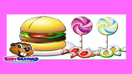 Junk Food and Sweets - Level 2 English Lesson 14 - English Learning, Learn ESL - Kids Education