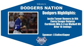 Dodgers Highlights: Corey Seager Returns in Dodgers 4-3 Loss vs. Cardinals in 16 Innings