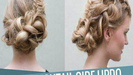Dutch Fishtail Side Updo