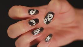 A guide to doing ghost nail art