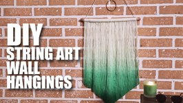 Mad Stuff With Rob - DIY String Art Wall Hanging  Room Decor Ideas